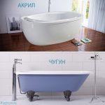 Акриловая и чугунная ванна плюсы и минусы – Чугунная ванна или акриловая лучше? Разбираемся какую ванну лучше выбрать. Плюсы и минусы каждой