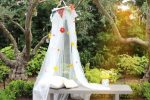Балдахин для уголка уединения – Как сделать легкий летний уличный и кроватный балдахин для защиты от насекомых