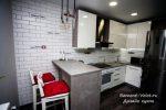 Барная стойка на маленькой кухне – Маленькая кухня с барной стойкой, фото, дизайн, где расположить, спланировать