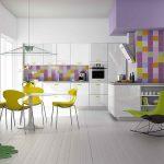 Белая кухня с бирюзовыми акцентами – 50 примеров на сочетания с другими цветами мебели и отделки