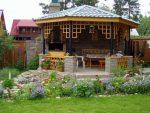 Беседка открытого типа фото – Беседки для дачи — 105 фото красивого дизайна современной беседки для загородного дома