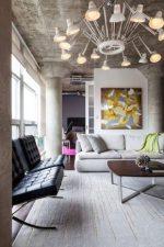 Бетонный потолок в стиле лофт – как сделать своими руками в квартире на бетонной потолочной поверхности и как выбрать варианты лофт-потолка для мансарды частного дома