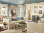 Бежевый и синий в интерьере – Голубой и бежевый — сочетания в гостиных, спальнях, кухнях. Фото, примеры, комментарии
