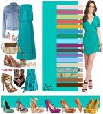 Бирюзовый и фиолетовый – Как правильно сочетать цвета в одежде | Блогер colnce на сайте SPLETNIK.RU 5 апреля 2013