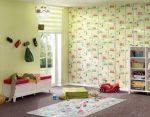 Бумажные обои в детскую комнату – для стен в комнату для детей, Jack`n Rose Junior в интерьере, в полоску и с динозаврами, наклейки для рисования