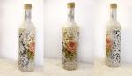 Бутылки декоративные своими руками фото – Декор бутылки своими руками пошаговый мастер класс для начинающих