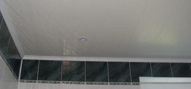 Чем лучше сделать потолок в ванной
