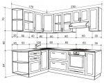 Чертеж с размерами угловой кухни – угловая кухня, чертеж кухни своими руками, интерьер в картинках, как нарисовать дизайн проекта,чертежи, макеты, видео