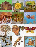 Что можно сделать из дубовых листьев – Поделки из листьев на тему осень для детского сада, уроки с фото и видео