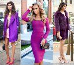 Цвет фиолетово сиреневый – сочетание в одежде, что означает, кому идет, с чем носить, оттенки фиолетового