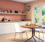 Цвет кухни и цвет стены на кухне