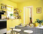 Цвет стен на кухне желтый – Цвет стен на кухне: как покрасить в желтые, оранжевые и другие тона?