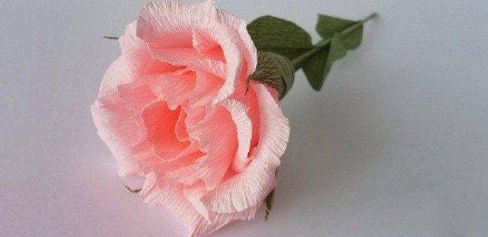Цветы из гофрированной бумаги своими руками в горшке – простые варианты, розочки, пионы, гигантские цветы, мастер-класс, пошаговая инструкция