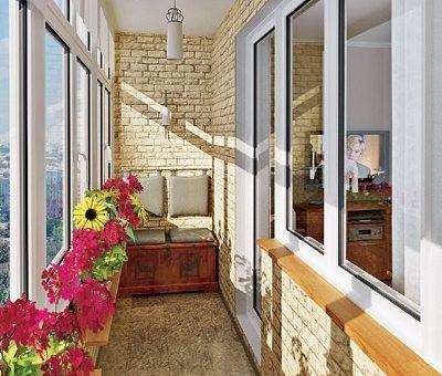 Декоративный камень на балконе фото – Отделка декоративным камнем балкона или лоджии. Как сделать релакс-зону буквально у себя за окном?