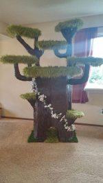 Дерево в квартире для кошки – Как построить потрясающий игровой домик для кошки в виде дерева