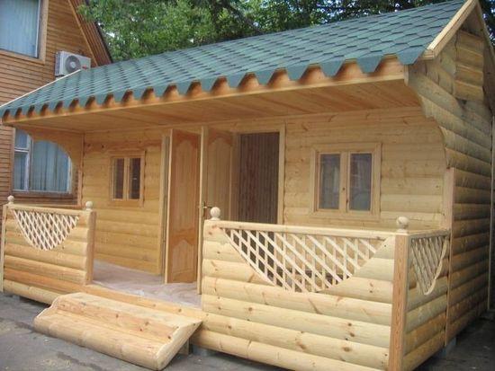 Крыльцо деревянного дома своими руками фото 229