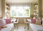 Детская комната для двух девочек – Спальня для двух девочек подростков или разного возраста: зонирование пространства, расположение мебели