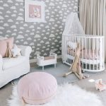 Детская комната для младенца девочки