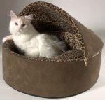 Диванчик для кошки своими руками – выкройки и пошаговые инструкции по изготовлению лежака для кота, как сделать его быстро и просто