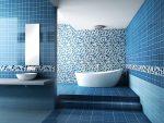 Дизайн бело голубой ванной – Синяя ванная комната – особенности дизайна, бело-синее и другие сочетания