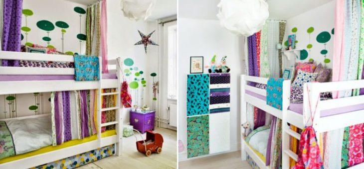 Дизайн детской для девочки и мальчика фото