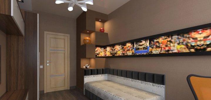 Дизайн детской комнаты 3 на 3 метра – проекты модных интерьеров квадратной комнаты 9 кв.м, удачное оформление узкой гостиной в «хрущевке»