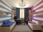 Дизайн детской спальни для девочки и мальчика – дизайн фото, вместе, двухъярусная кровать, оформление зонирования, идеи мебели для подростков, интерьер