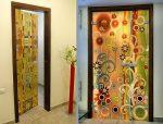Дизайн дверей своими руками фото