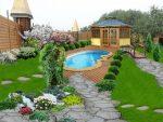 Дизайн двора частного дома 6 соток – Создаем ландшафтный дизайн 6 соток, обустраивание территориис малыми затратами
