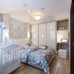 Дизайн и спальни и детской – Спальня и детская в одной комнате (16 фото), дизайн интерьера совмещенной спальни с детской кроваткой