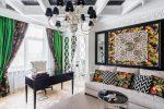 Дизайн интерьера в стиле ар деко – особенности дизайна квартиры, как подобрать картины, шторы и прочие элементы + фото реальных объектов