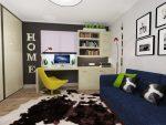 Дизайн комнаты для мальчика школьника