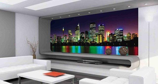 Дизайн комнаты ночной город – Фотообои города в интерьере: современный дизайн и собственный стиль стен вашего дома