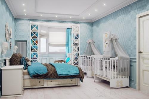 Дизайн комнаты спальня для родителей совмещенная с детской – фото и видео примеры, а так же советы по совмещению спальни и детской комнаты