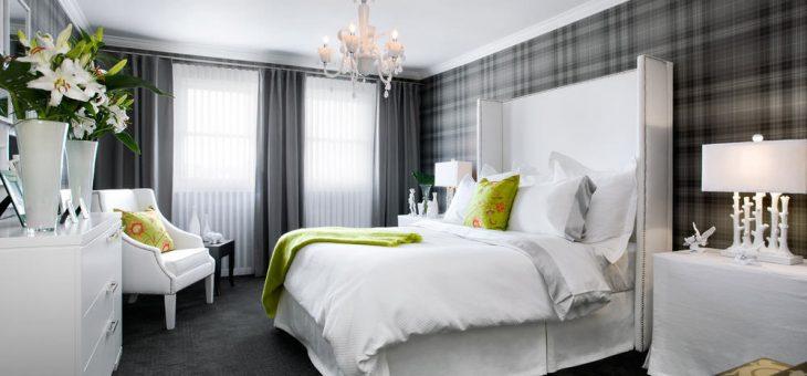 Дизайн комнаты в сером цвете фото