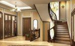 Дизайн коридора с лестницей на второй этаж – Интерьер холла с лестницей в классическом стиле. Коридор с лестницей на второй этаж: оформление дизайна