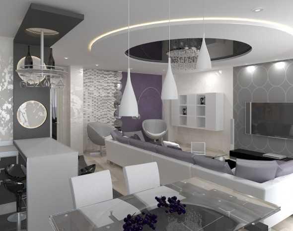 дизайн кухни гостиной в классическом стиле фото кухни столовой