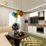 Дизайн кухни 10 на 10 фото – Дизайн кухни 10 кв м — выбор удобной планировки и обустройство (45 фото)