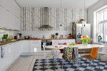Дизайн кухни 20 кв м фото в частном доме – Интерьер кухни столовой: совмещенной с гостиной, с барной стойкой, в стиле прованс, в частном деревянном доме, 20 кв м и 17 кв м, фото