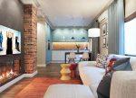 Дизайн кухни 30 кв м совмещенной с гостиной фото – Дизайн кухни-гостиной площадью 30 кв.метров (82 фото): планировка с совмещенным интерьером