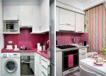 Дизайн кухни 4 квадратных метра – планировка, интерьер, проект, кухня-гостиная, размер маленькой, с холодильником, 4 на 2 метра, окна, в хрущевке, видео