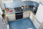 Дизайн кухни 6 кв м фото новинки 2018 с холодильником – Топ лучших вариантов планировки кухни 6 метров с холодильником и стиральной машиной