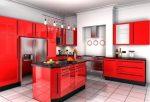 Дизайн кухни фото для красной кухни – Красно-черная кухня – 70 фото дизайн-проектов для оригинального интерьера