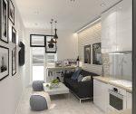 Дизайн кухни гостиной фото 17 кв м – Дизайн кухни-гостиной 17 кв. м. (50 фото): интерьер совмещенных помещений