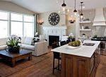 Дизайн кухни гостиной в загородном доме – Дизайн кухни гостиной в частном доме (16 фото), варианты интерьера кухни совмещенной с гостиной в загородном доме
