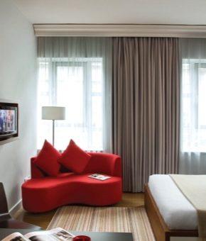 Дизайн кухни студии 30 кв м фото – планировка современного интерьера с одним окном и с балконом, как обустроить прямоугольную комнату