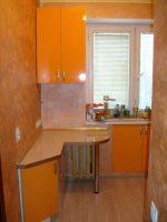 Дизайн кухни в хрущевке 5 кв м – фото ремонта маленькой кухни, интерьер угловой кухни 6 кв, идеи планировок с холодильником