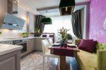 Дизайн кухня 13 кв м