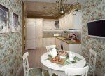 Дизайн кухня с круглым столом – Круглый стол на кухню — уютный и практичный дизайн (100 фото). Дизайн кухни с круглым столом