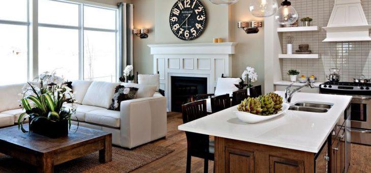 Дизайн кухня столовая гостиная в частном доме – Дизайн кухни гостиной в частном доме (16 фото), варианты интерьера кухни совмещенной с гостиной в загородном доме